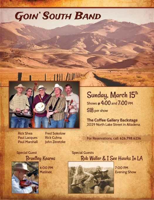 Goin South Band_Flyer March 15