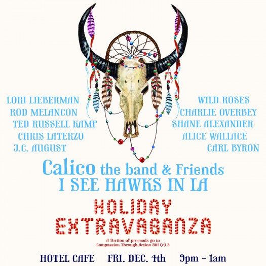 small calico holiday flyer